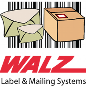 walz label mailing systems