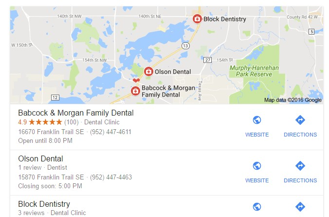 reviews google maps